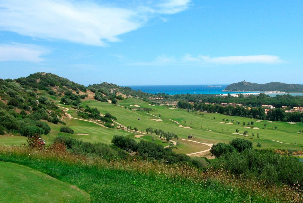 golf course near the Villa